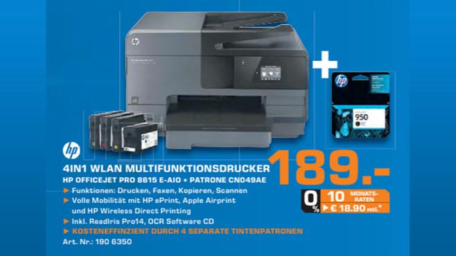 Hewlett-Packard HP Officejet Pro 8615 ©Saturn