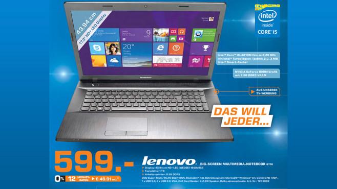 Lenovo G710 29420406 ©Saturn