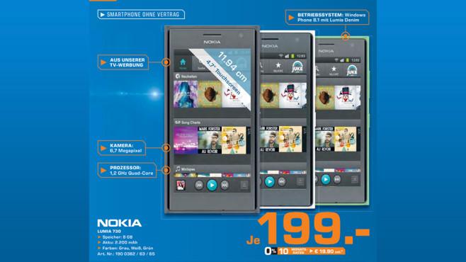 Nokia Lumia 730 Dual Sim ©Saturn
