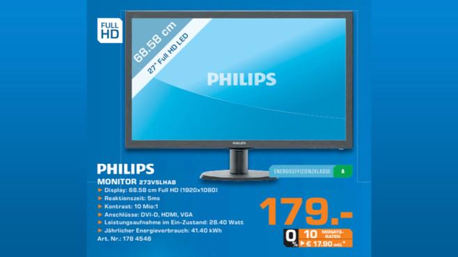Philips 273V5LHAB ©Saturn