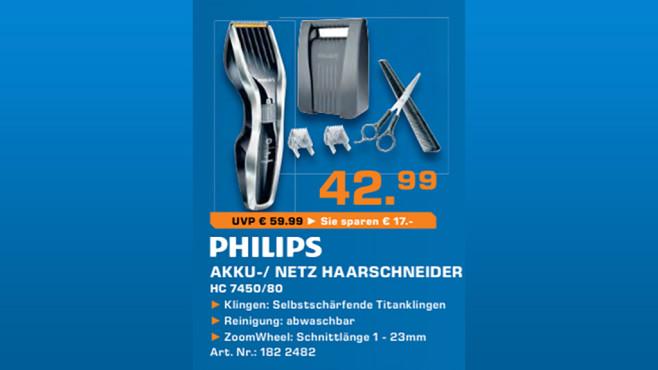 Philips HC7450/80 ©Saturn