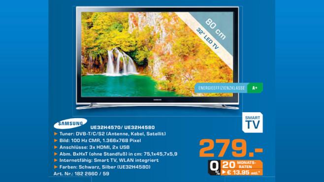 Samsung UE32H4570 ©Saturn