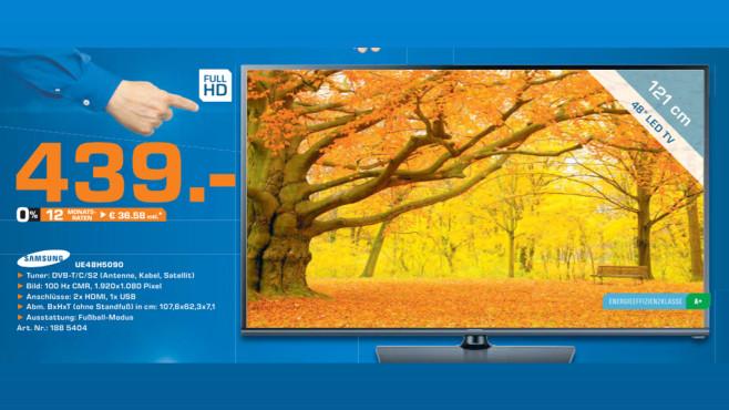 Samsung UE48H5090 ©Saturn