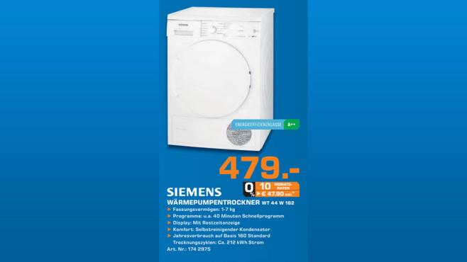 Siemens WT44W162 ©Saturn