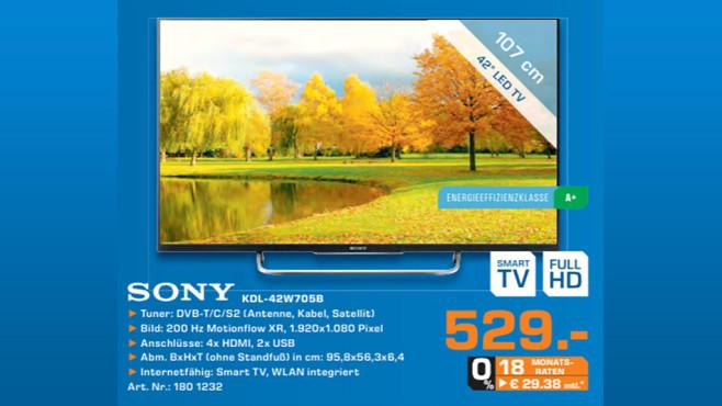 Sony KDL-42W705B ©Saturn