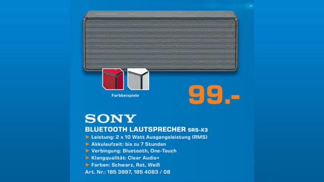 Sony SRS-X3 ©Saturn