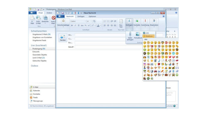 Windows Live Mail 2012 © COMPUTER BILD