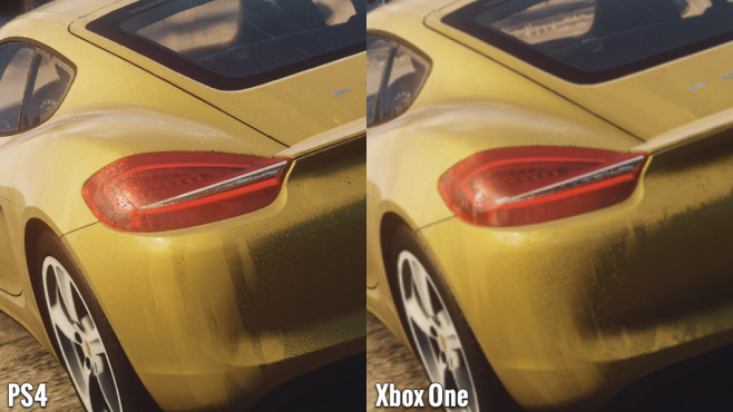 Rennspiel Need for Speed – Rivals: Rücklicht - PS4 vs. One © Electronic Arts