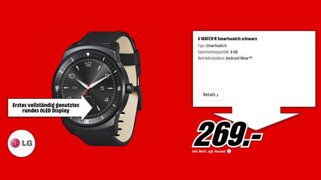 LG G Watch R ©Media Markt