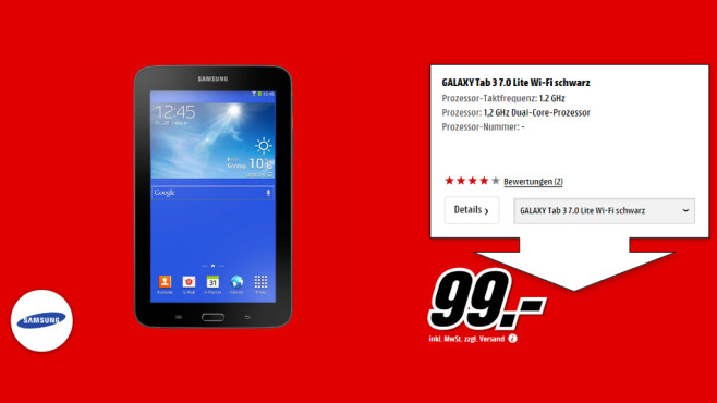 Samsung Galaxy Tab 3 7.0 Lite © Media Markt