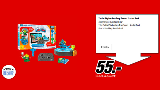 Skylanders: Trap Team - Tablet Starter Pack © Media Markt