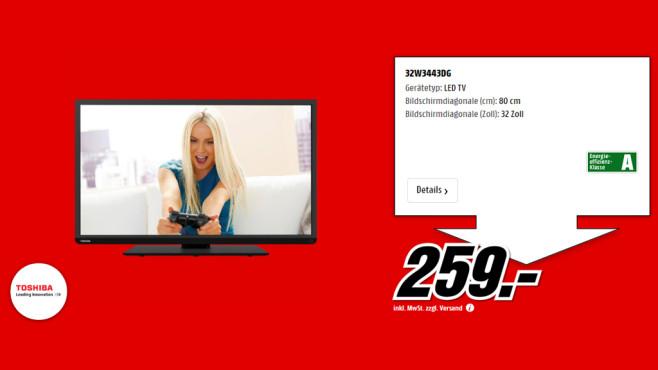 Toshiba 32W3443 ©Media Markt
