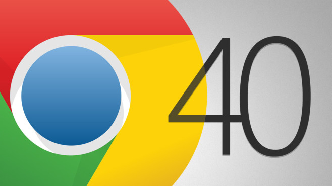 Google Chrome 40 © Google