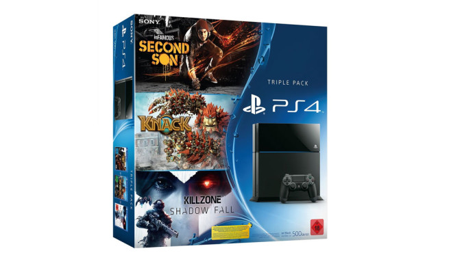 PS4: Triple-Pack ©Sony