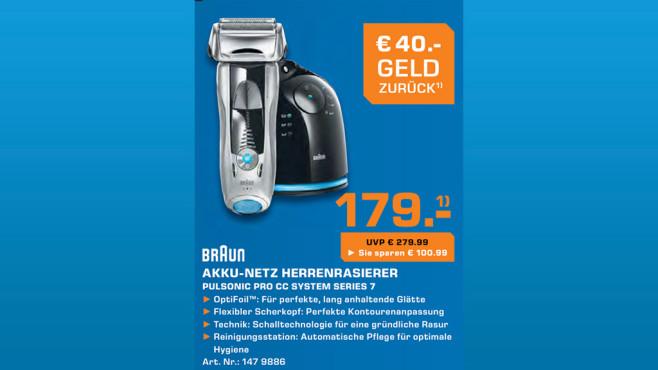 Braun Pulsonic Pro CC System ©Saturn