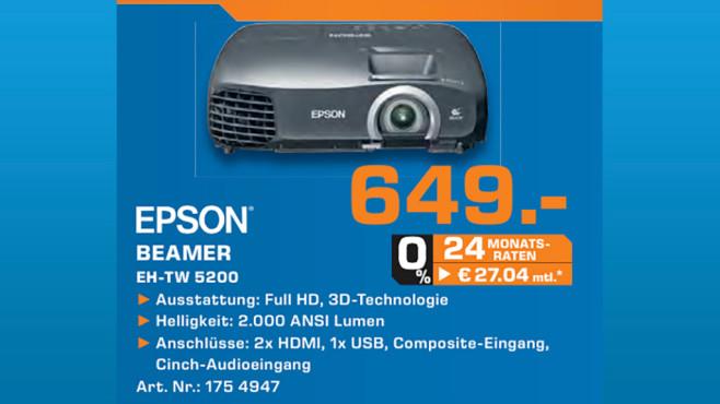 Epson EH-TW5200 ©Saturn