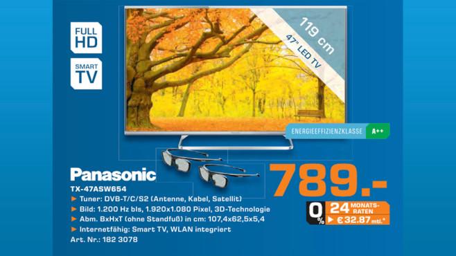 Panasonic TX-47ASW654 ©Saturn
