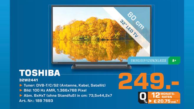 Toshiba 32W2441DG ©Saturn