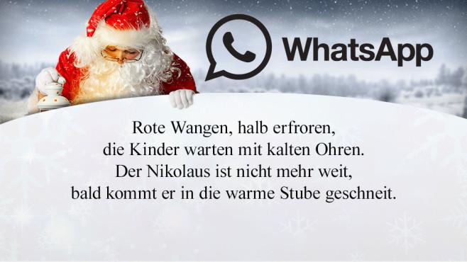 Die schönsten und lustigsten WhatsApp-Sprüche zum Nikolaus ©WhatsApp,  tananddda - Fotolia.com, JiSign - Fotolia, magdal3na - Fotolia.com