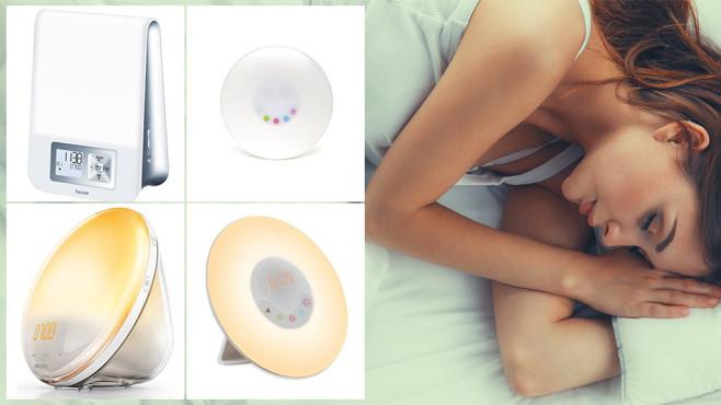 Wake-up-Lights: Damit wird das Aufwachen ein Leichtes Lichtwecker: Sechs Geräte im Test. ©Philips, Amteker, Amir, Beurer, lenets_tan-Fotolia.com