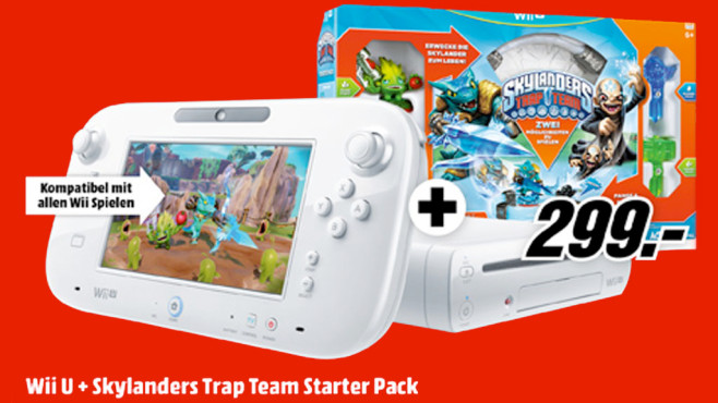 Nintendo Wii U Skylanders: Trap Team Basic Pack © Media Markt