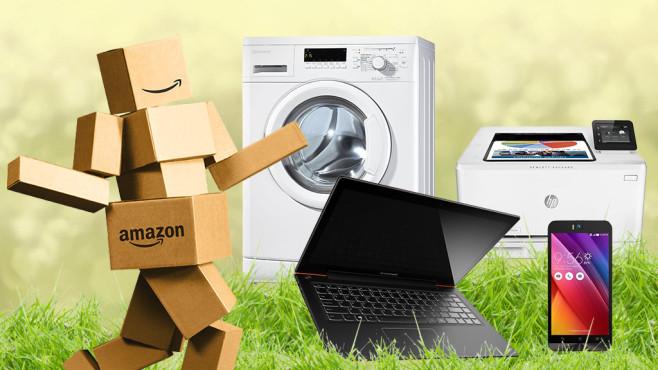 Amazon-Blitzangebote zu Ostern ©Amazon, Bauknecht, Lenovo, Asus, Floydine – Fotolia.com