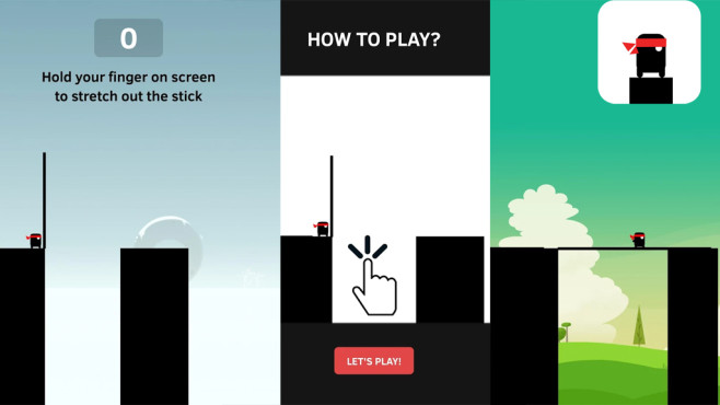 Stick Hero © Ketchapp