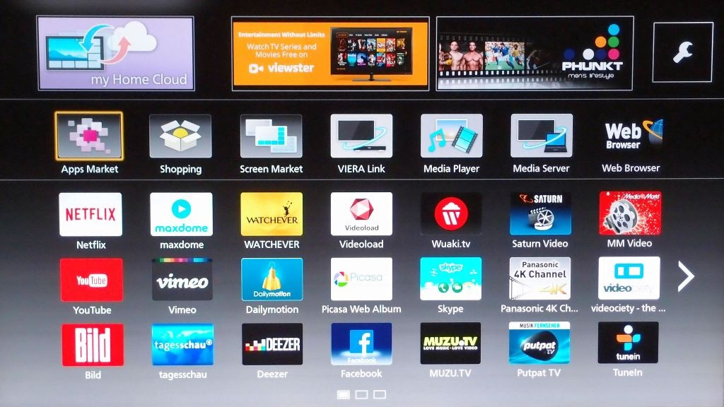 how to download apps on panasonic smart tv