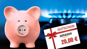 Strom & Gas: Tarif wechseln, 20-Euro-Amazon-Gutschein sichern ©by-studio, electriceye - Fotolia.com