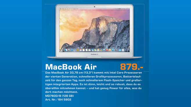 "Apple MacBook Air 13"" © Saturn"