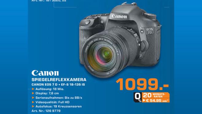 Canon EOS 7D ©Saturn