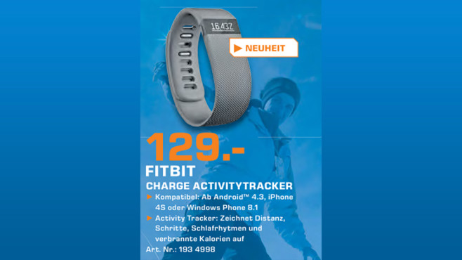 Fitbit Charge © Saturn