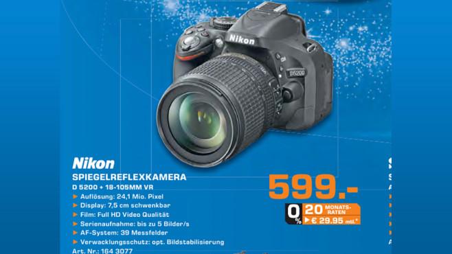 Nikon D5200 ©Saturn