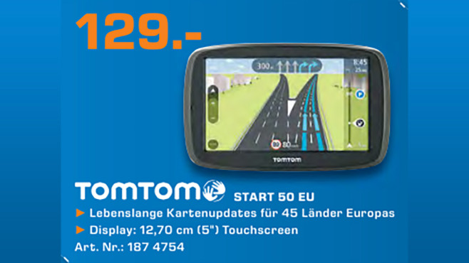 TomTom Start 50 EU © Saturn