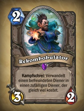 Hearthstone � GvG: Rekombobulator © Blizzard