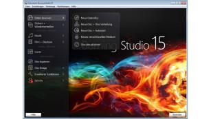 Screenshot Ashampoo Burning Studio 15 ©COMPUTER BILD