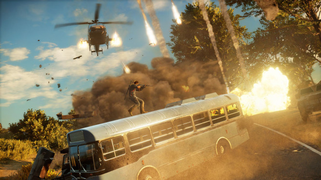 Actionspiel Just Cause 3: Angriff © Square Enix