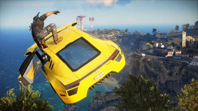 Actionspiel Just Cause 3: Auto © Square Enix