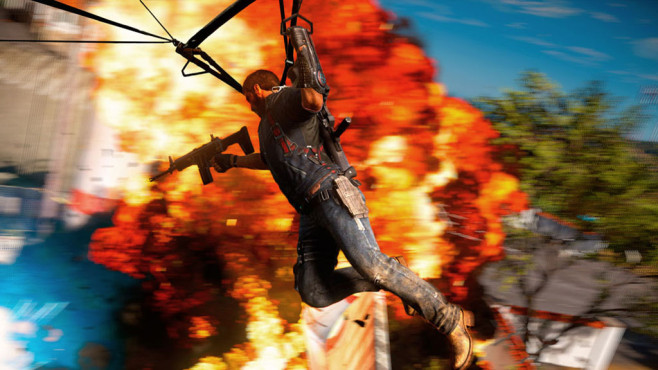 Actionspiel Just Cause 3: Explosion © Square Enix