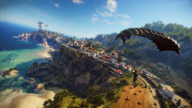 Actionspiel Just Cause 3: Flug © Square Enix
