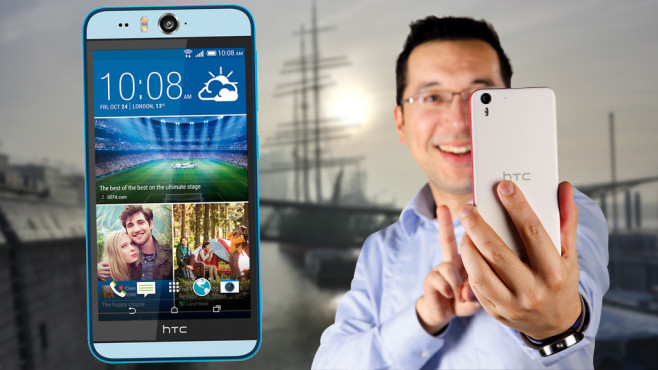 HTC Desire Eye © HTC, COMPUTER BILD, Kai Zantke himself