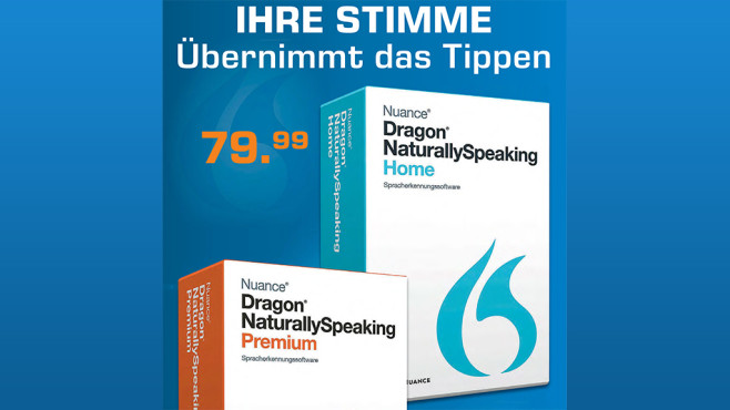 Nuance Dragon Naturally Speaking 13 Home (DE) © Saturn