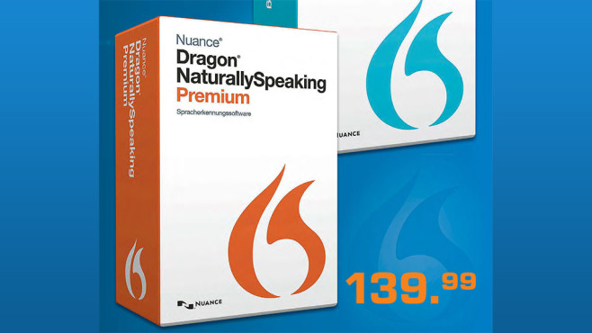 Nuance Dragon Naturally Speaking 13 Premium (DE) © Saturn