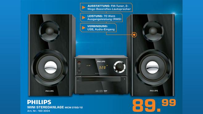 Philips MCM2150 ©Saturn