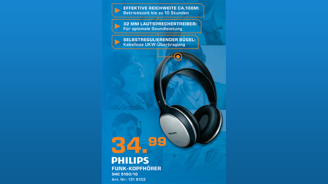 Philips SHC5100 © Saturn