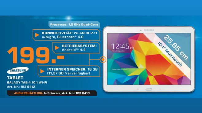 Samsung Galaxy Tab 4 (10.1) ©Saturn