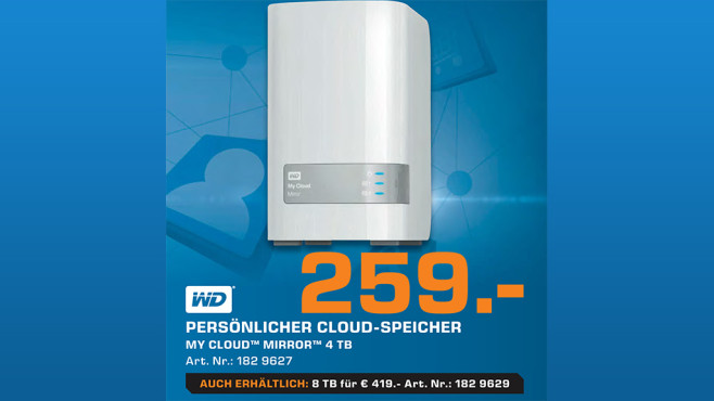 Western Digital My Cloud Mirror - 4TB © Saturn