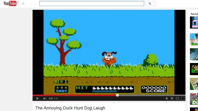 Duck Hunt © YouTube / Nintendo