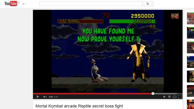 Mortal Kombat © YouTube / Midway