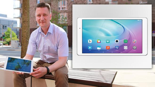 Huawei MediaPad T2 10.0 Pro ©COMPUTER BILD, Huawei